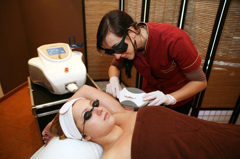 Laserowe usuwanie owłosienia